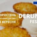 Місто Коростень запрошує на 11-й міжнародний Derun Fest 2019