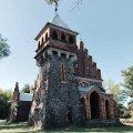 Дивовижний храм у Городківці на Житомирщині - єдиний в Україні неоготичний костел Святої Клари (1913 р.).ФОТО