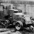 Навесні 1920 року польські війська на Житомирщині захопили у більшовиків два бронеавтомобілі «Остін-Кегресс»