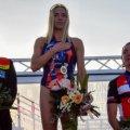 Житомирська триатлетка Юлія Єлістратова виграла золото на етапі Кубку Європи в Румунії