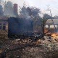 В Лугинському районі через спалення сухостою горіли житлові будівлі