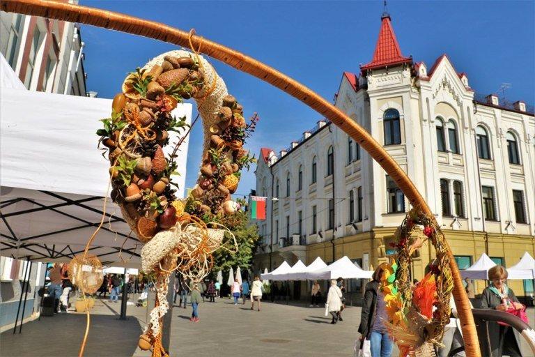 Барвисті дива красуні-осені на пішохідній вулиці Михайлівській. ФОТО