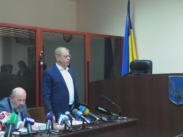 Суд арештував Сергія Пашинського