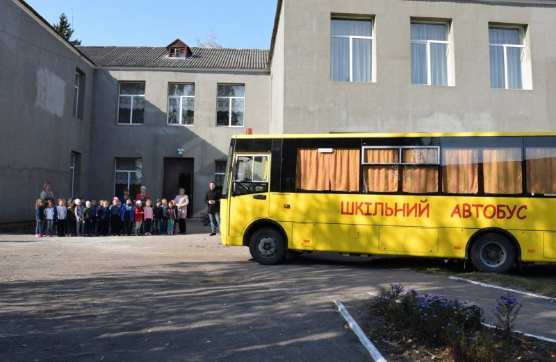 Нове життя Троковицького ліцею - утеплення стін, модульна котельня та шкільний автобус