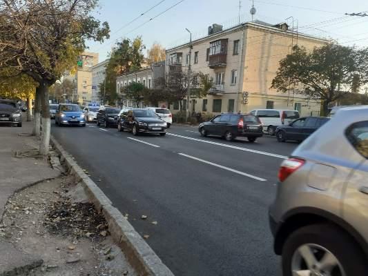 ДТП на вулиці Перемоги у Житомирі. ФОТО