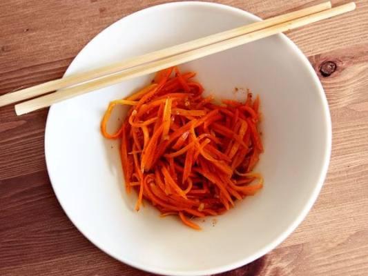 Рецепти гострої і пікантної моркви по-корейськи на зиму