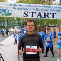 Засновник малинського бігового клубу — переможець напівмарафону в Берегово
