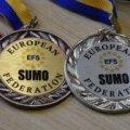 Коростенка – срібна призерка чемпіонату Європи з боротьби сумо!