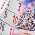 Новогодние каникулы: Кабмин определил, сколько будут отдыхать украинцы