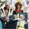 Покровське весілля на Михайлівській: весільні обряди, дефіле, флешмоб, дискотека, святковий концерт