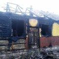 В Баранівському районі вогнеборці ліквідували пожежу в будинку, під час якої господар отримав опіки тіла
