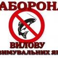 На Житомирщині з 1 листопада буде діяти заборона вилову риби на зимувальних ямах