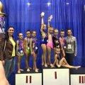 Житомирські гімнастки на змаганнях в Одесі отримали шість золотих медалей. ФОТО