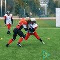 На стадіоні «Спартак Арена» команда Житомира з американського футболу «Bisons» провела відкрите тренування