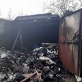 У Житомирі вогнеборцями ліквідовано загоряння трьох гаражів
