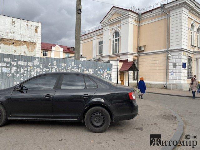 У Житомирі з Лятошинського зникли біотуалети. ФОТО