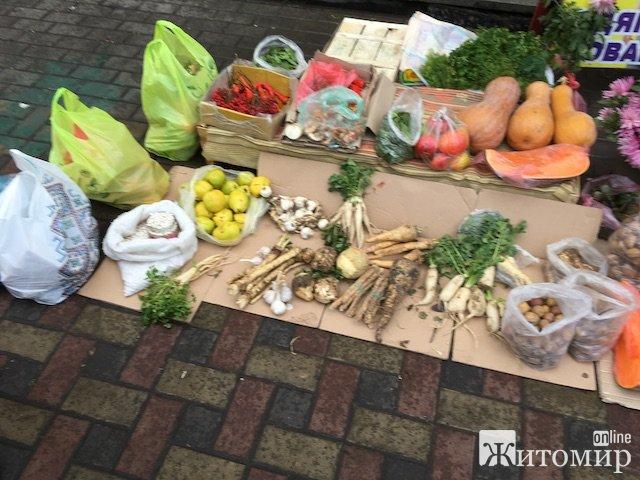 По чому айва на Житньому ринку у Житомирі? ФОТО