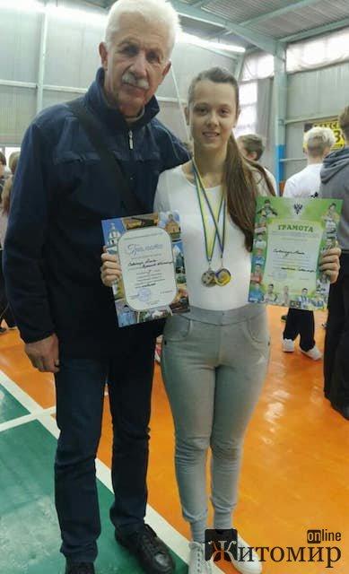Житомирянка отримала медаль на змаганнях зі стрільби з лука. ФОТО