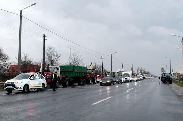 Що відомо про перекриття бердичівської траси міжнародного значення?