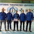 У змаганнях з гирьового спорту команду Житомирщини представили п'ятеро найсильніших поліцейських області