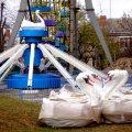 У Житомирі в парку з'явився новий атракціон. ФОТО