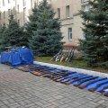 Жителі Житомирщини роззброїлись, здавши до поліції у жовтні близько 300 одиниць зброї та спецзасобів
