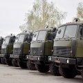 Бійці славної 30-тки отримали нові вантажні автомобілі підвищеної прохідності