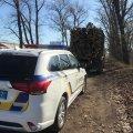 У Коростенському районі затримали крадіїв деревини