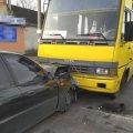 У Новограді-Волинському Lanos зіштовхнувся з автобусом, водій легковика помер на місці