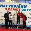 Житомирська область в п'ятірці чемпіонату України з карате