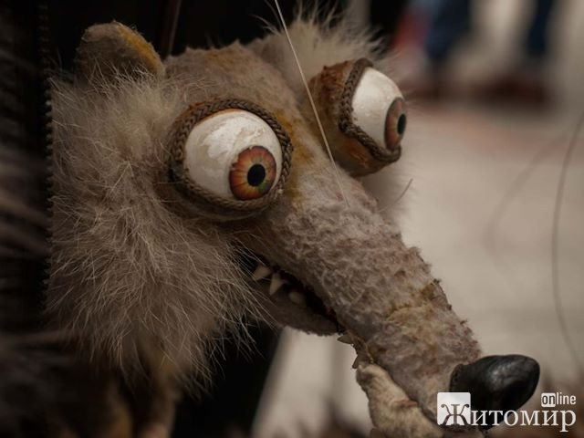 Дорослі та діти зачаровані житомирським лялькарем, який виступає на Михайлівській. ФОТО