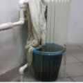 У Житомирі затопило гарячою водою кімнати гуртожитку