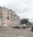 На перехресті Київської та Театральної зіштовхнулися дві автівки. ФОТО