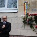 У Житомирі відкрили першу унікальну меморіальну дошку. ФОТО