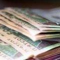 Середня заробітна плата у жовтні в Житомирській області становила понад 8,5 тис. грн