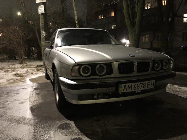 Терміново! У Житомирі продається культовий автомобіль BMW 5-ої серії. ФОТО. ВІДЕО
