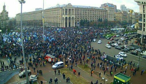 Киевский Майдан против Зеленского. Первые подробности. Онлайн-трансляция