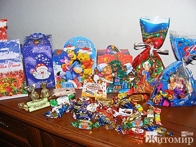 У Житомирі школярі 1-4-х класів отримають новорічні подарунки від влади міста