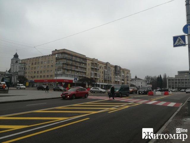 Житомиряни хочуть, аби майдан Соборний був пішохідним