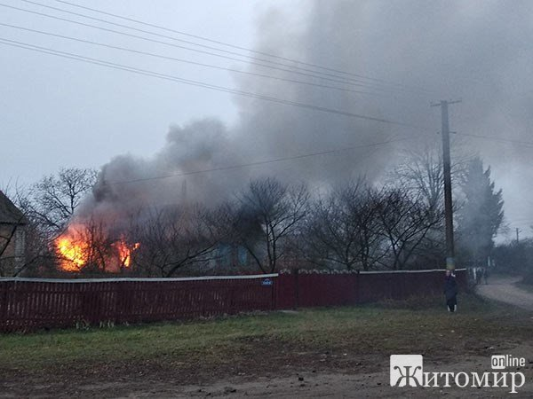 У селі Житомирської області рятувальники виявили тіло чоловіка