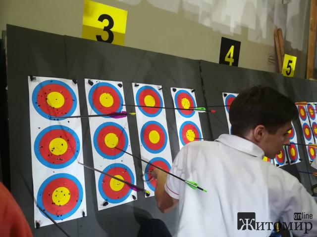 У Житомирі розпочався відкритий турнір по стрільбі з лука. ФОТО