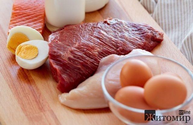 З початку року в Житомирській області зросло виробництво м'яса, а молока та яєць – скоротилось