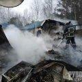 На Житомирщині вщент згоріло кафе-бар