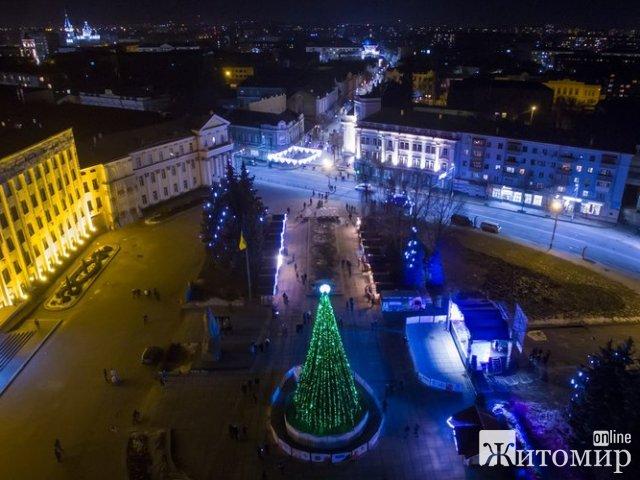 Програма святкування Нового року та Різдва у Житомирі
