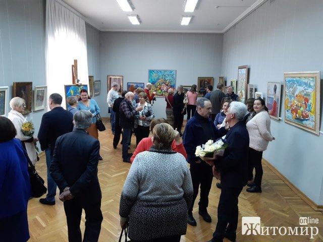 В Житомирском краеведческом музее открылась выставка Николая Максименка, экспозиции 40-х - 50-х годов