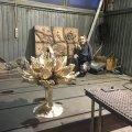 У сквері на Лятошинського в Житомирі зовсім скоро встановлять фонтан у вигляді лотосу