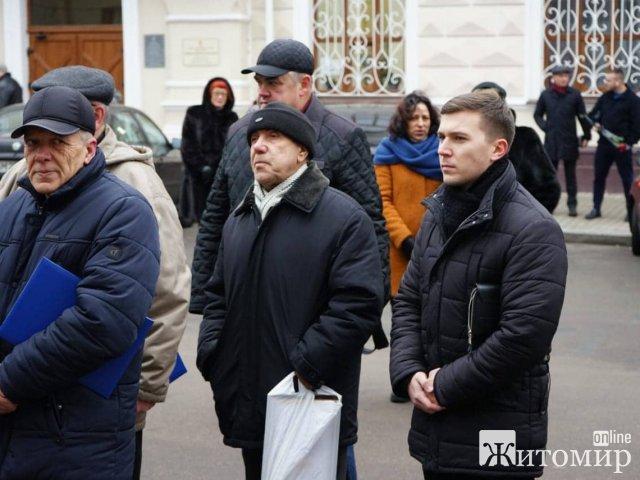 У Житомирі вшанували пам'ять учасників ліквідації наслідків аварії на Чорнобильській АЕС