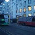 До уваги водіїв: вулиця Мала Бердичівська перекрита. ФОТО