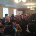 В Бердичівському районі влада зібрала людей на слухання, а сама не з'явилась!