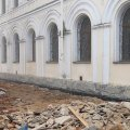Директор житомирського краєзнавчого музею показав, як просувається реконструкція магістрату. ФОТО